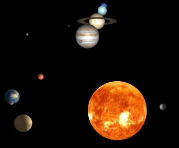 solar system three js - photo #3